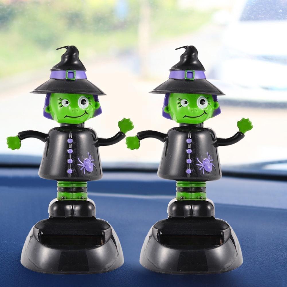 Jannyshop Poup/ée Sorci/ère Solaire en Plastique pour Halloween