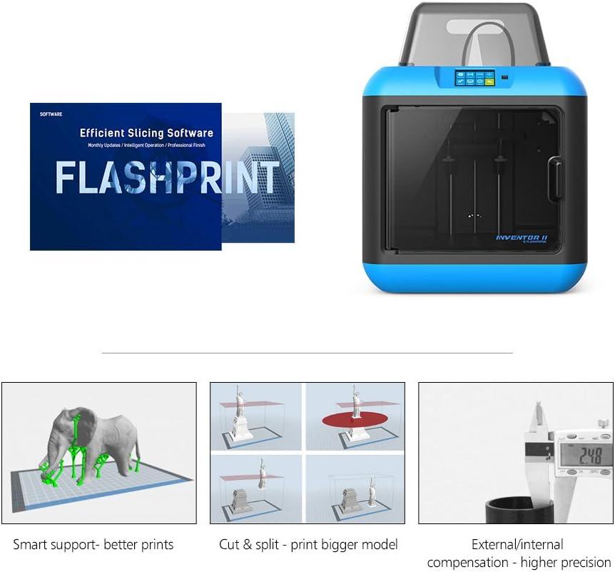FlashForge Impresora 3D Inventor II Pantalla Táctil WiFi de ...