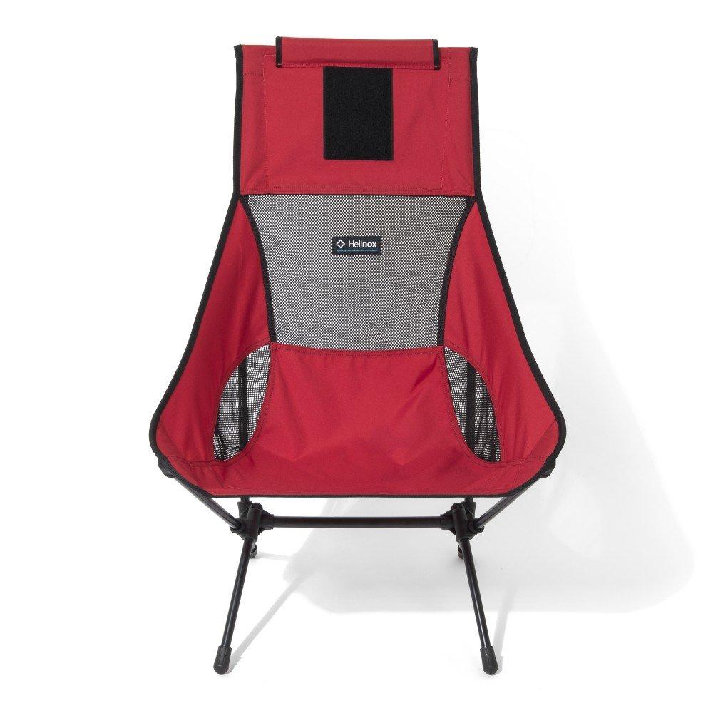 HELINOX CHAIR 2つキャンプ椅子1サイズレッドブラック B01N7YVQIV