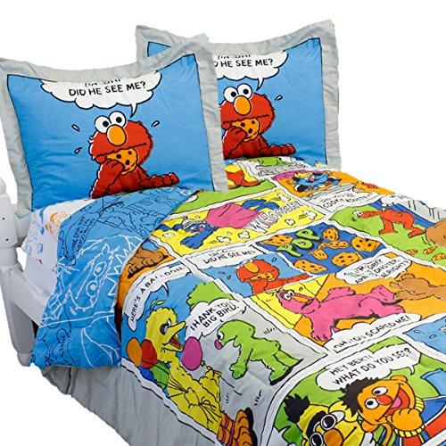 Sesame Street Bedding Monster Comforter