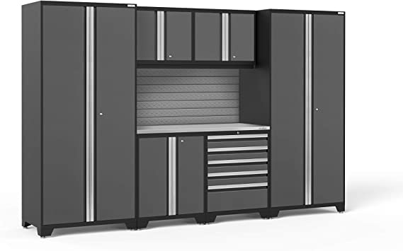 Newage Products Pro Series 3 0 Grey 7 Piece Set Garage Cabinets 58343 Amazon Ca Tools Home Improvement
