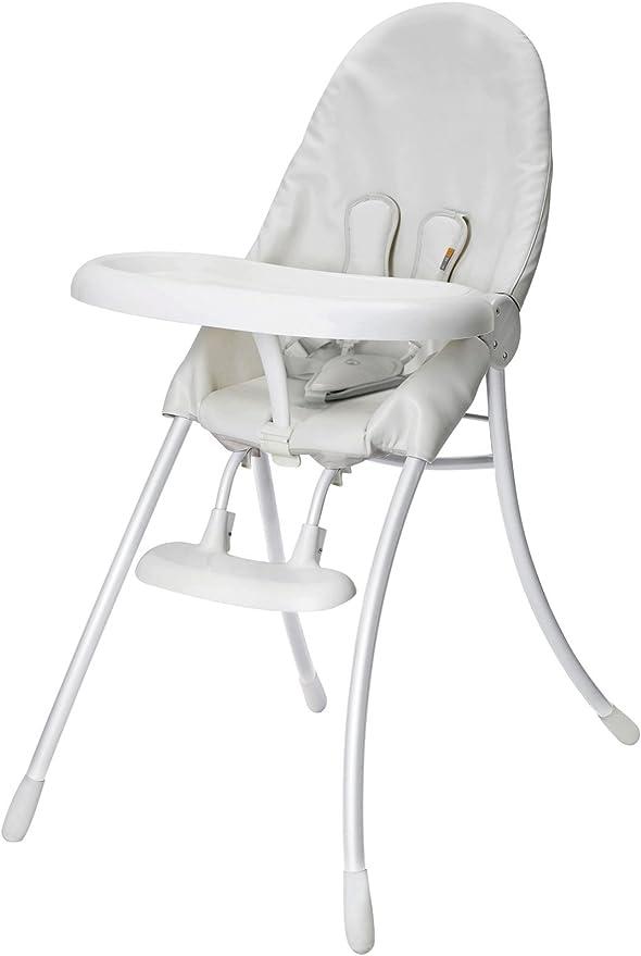 Bloom Nano Urban Highchair White Frame & White Seat by