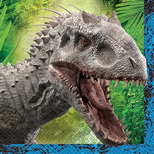 Jurassic World Party Napkins, 16ct