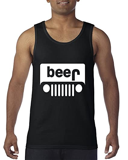 32222912 Amazon.com: Beer Jeep Funny Drinking Drinking Partys Men's Tank Top:  Clothing