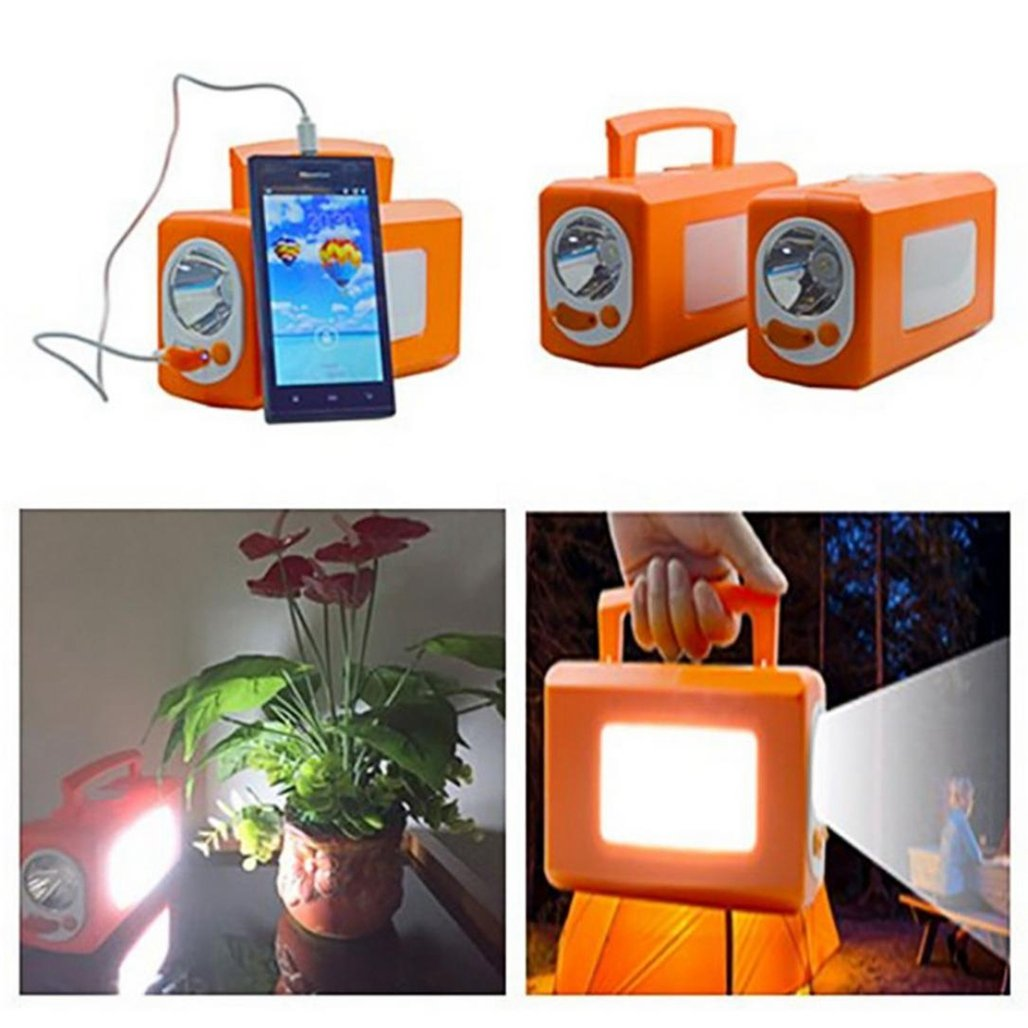 wawer Smart recargables Faro Outdoor Emergency Portable Light, Color A: Amazon.es: Iluminación