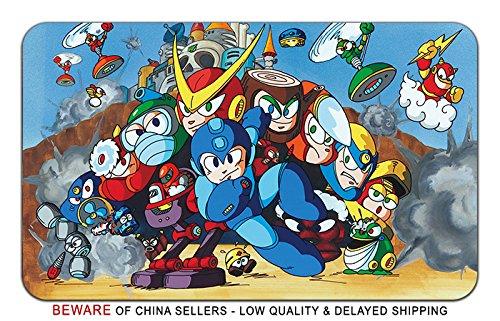 Mega Man Game Stylish Playmat Mousepad (24 x 14) Inches [MP] MegaMan-6