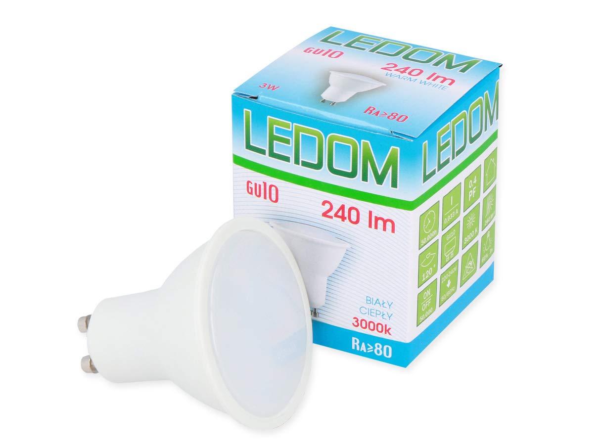 Energiesparlampe Glühlampe Spot Strahler GU10 3W LED Leuchtmittel 240lm A