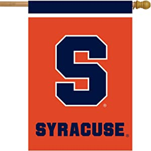 "Syracuse Orange House Flag NCAA Licensed 28"" x 40"""