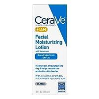 2 Pack CeraVe AM Facial Moisturizing Lotion SPF 30 3oz Deals