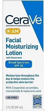 CeraVe AM Facial Moisturizing Lotion SPF 30 | Oil-Free Face Moisturizer