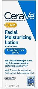 CeraVe Facial Moisturizing Lotion AM, 3 oz