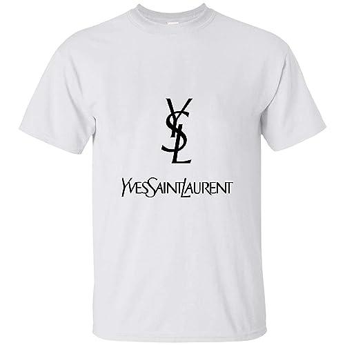 yves saint laurent white t shirt