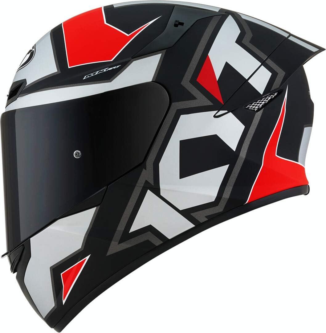Kyt Tt Course Electron Helmet Xl Matte Black Red Auto