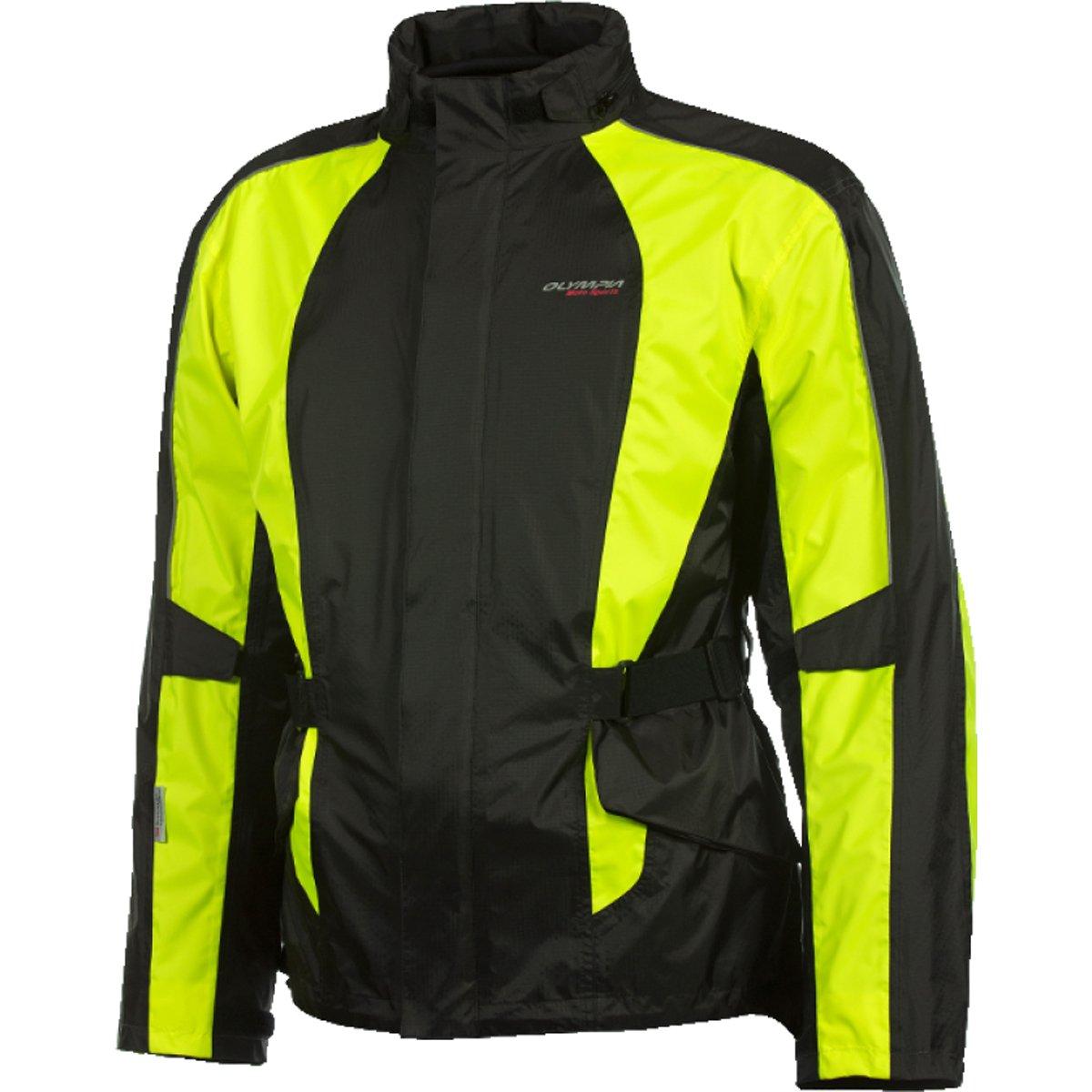 Olympia (MJ415Z-XL/2XL) unisex-adult New Horizon Rain Jacket(Neon Yellow, X-Large/XX