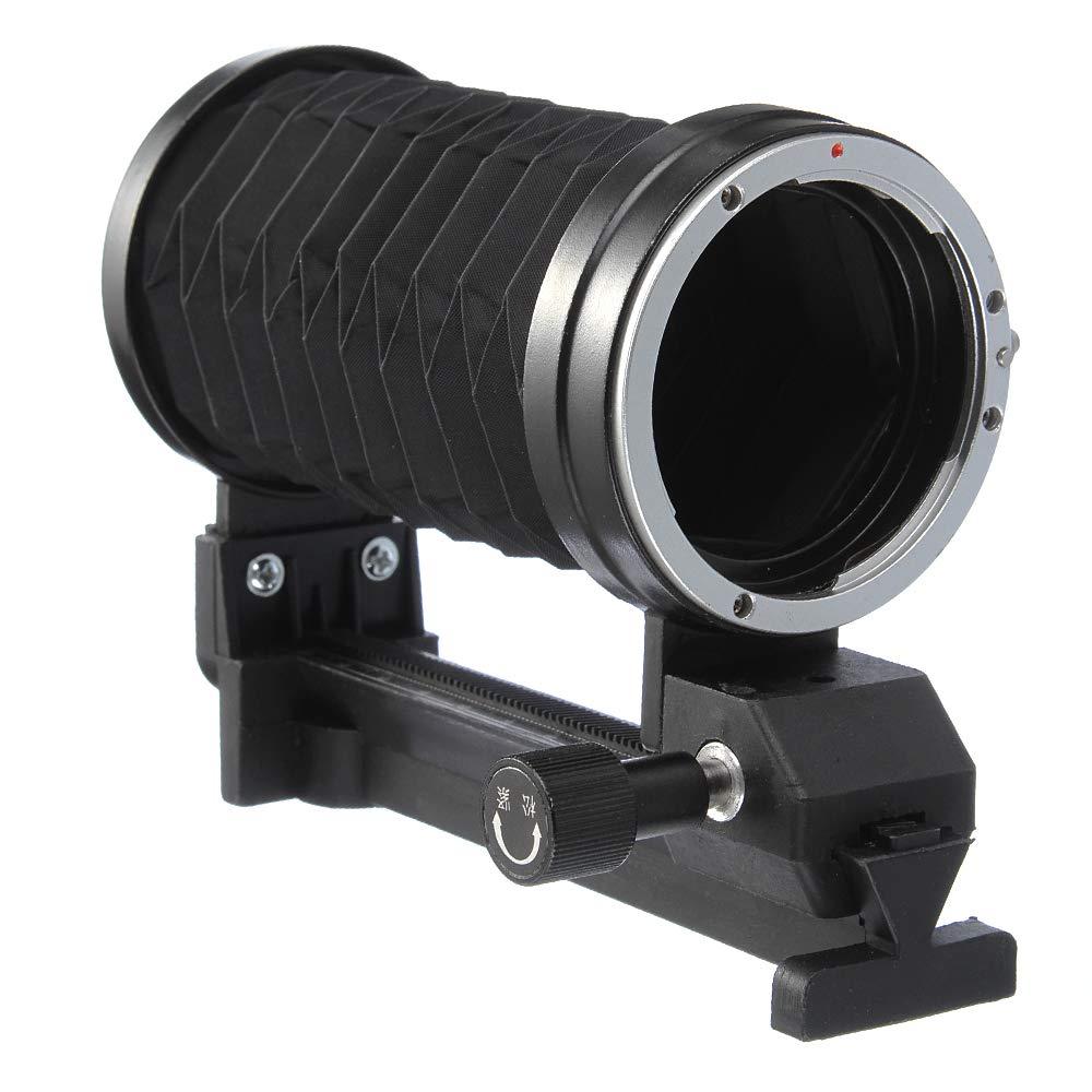 Runshuangyu Extension Tube Macro Lens Bellow for Nikon AI SLR Camera D750 D810 D7200 D7000 D90 D80 D60 D7100 D5300 D5200 D5100 D3300 D3100 D3000 DSLR and More by Runshuangyu
