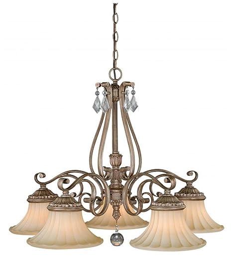 Amazon.com: Vaxcel iluminación h0141 avenant 5 luz único ...