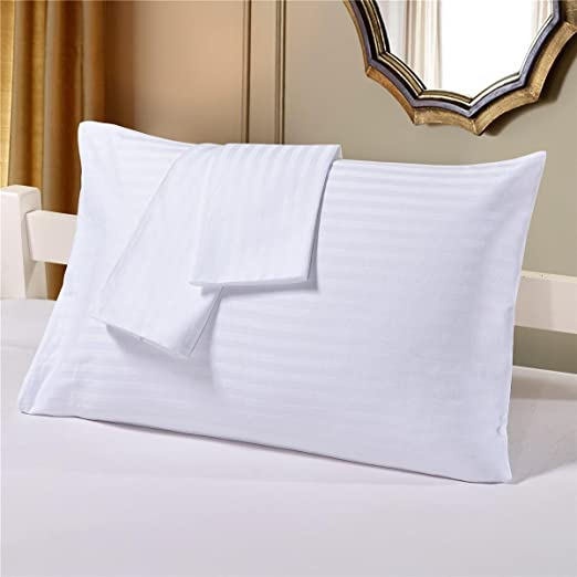 Amazon Com Trend Bedding Mart Oversize Pillow Case White Stripe