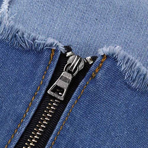 Leggins Leggings Donna Up Elasticizzati Jeans Donne Multicolore Slim Eleganti Distrutto Casual Push Denim Strappati Pantaloni dtrqwHErx