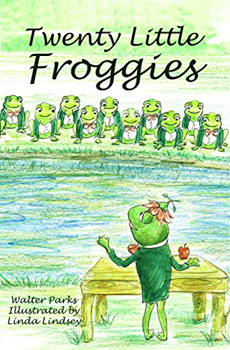 Book: Twenty Little Froggies - Memorizing Poem by Walter Parks