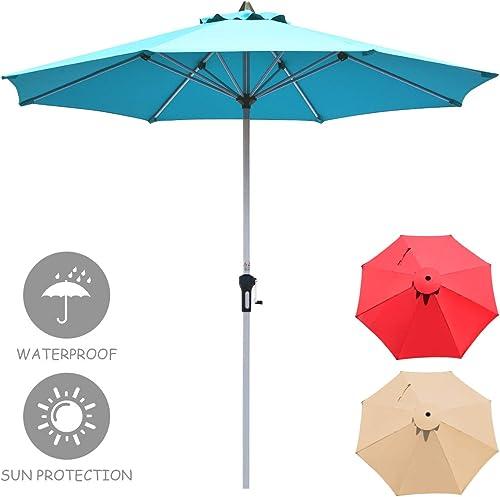 Tangkula 9 ft Patio Umbrella