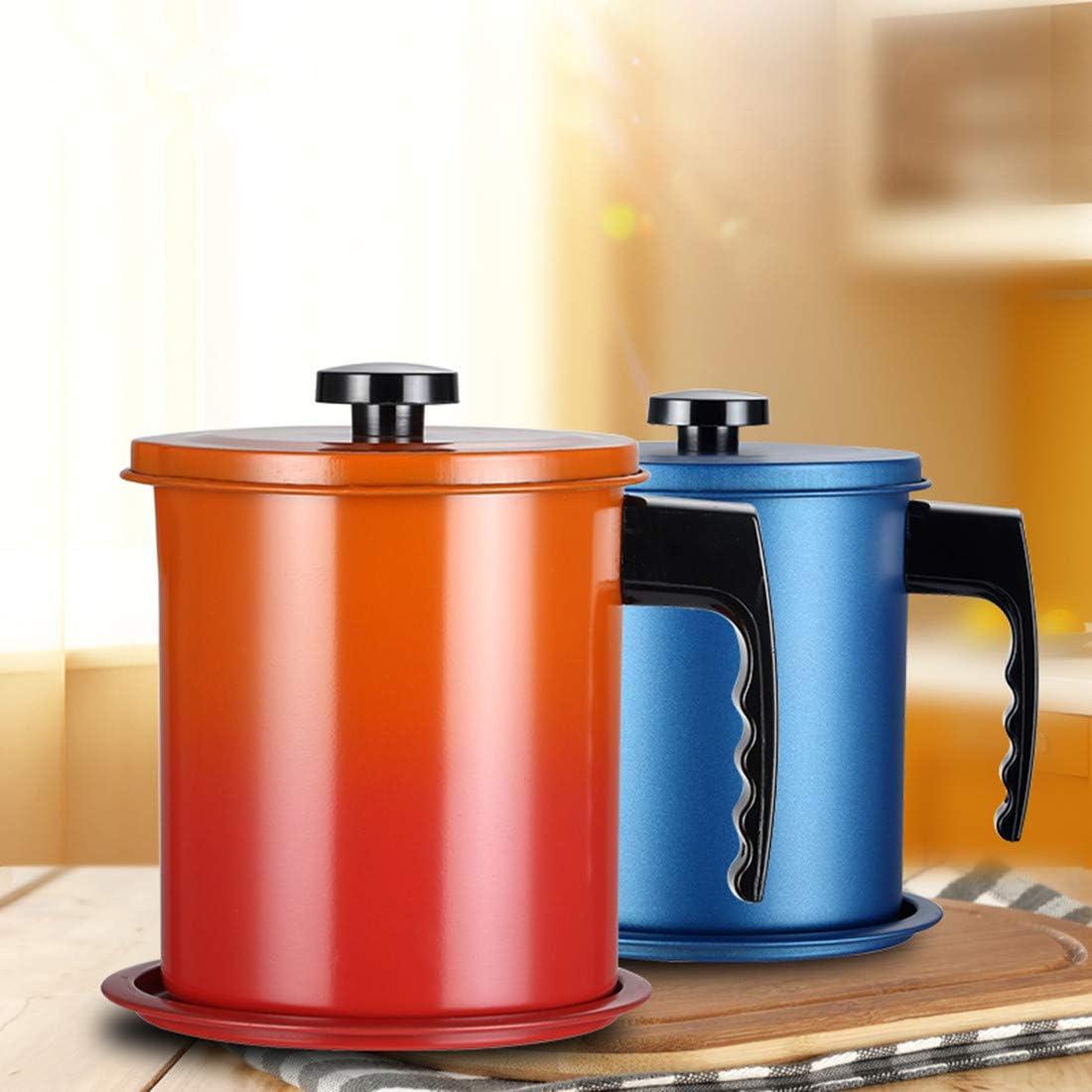 grasso con filtro per friggitrice Contenitore di olio esausto