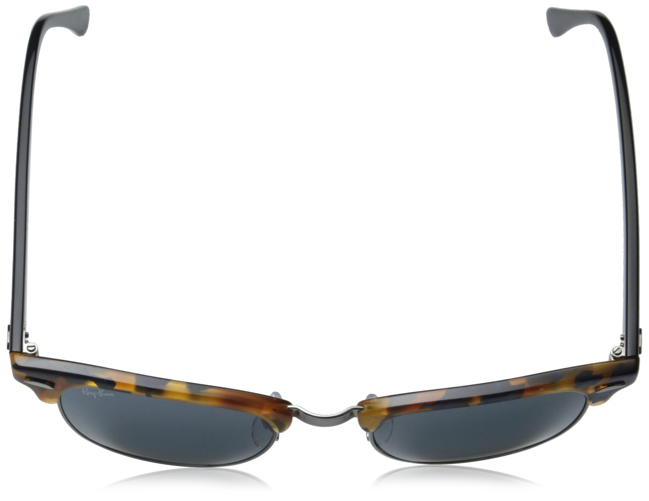 Ray-Ban CLUBMASTER - SPOTTED BLUE HAVANA Frame GREY Lenses 49mm Non-Polarized by Ray-Ban (Image #4)