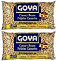 Goya Canary Beans 16oz | Frijoles Canarios (Pack of 02) by Goya