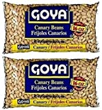 Goya Canary Beans 16oz | Frijoles Canarios (Pack of 02)