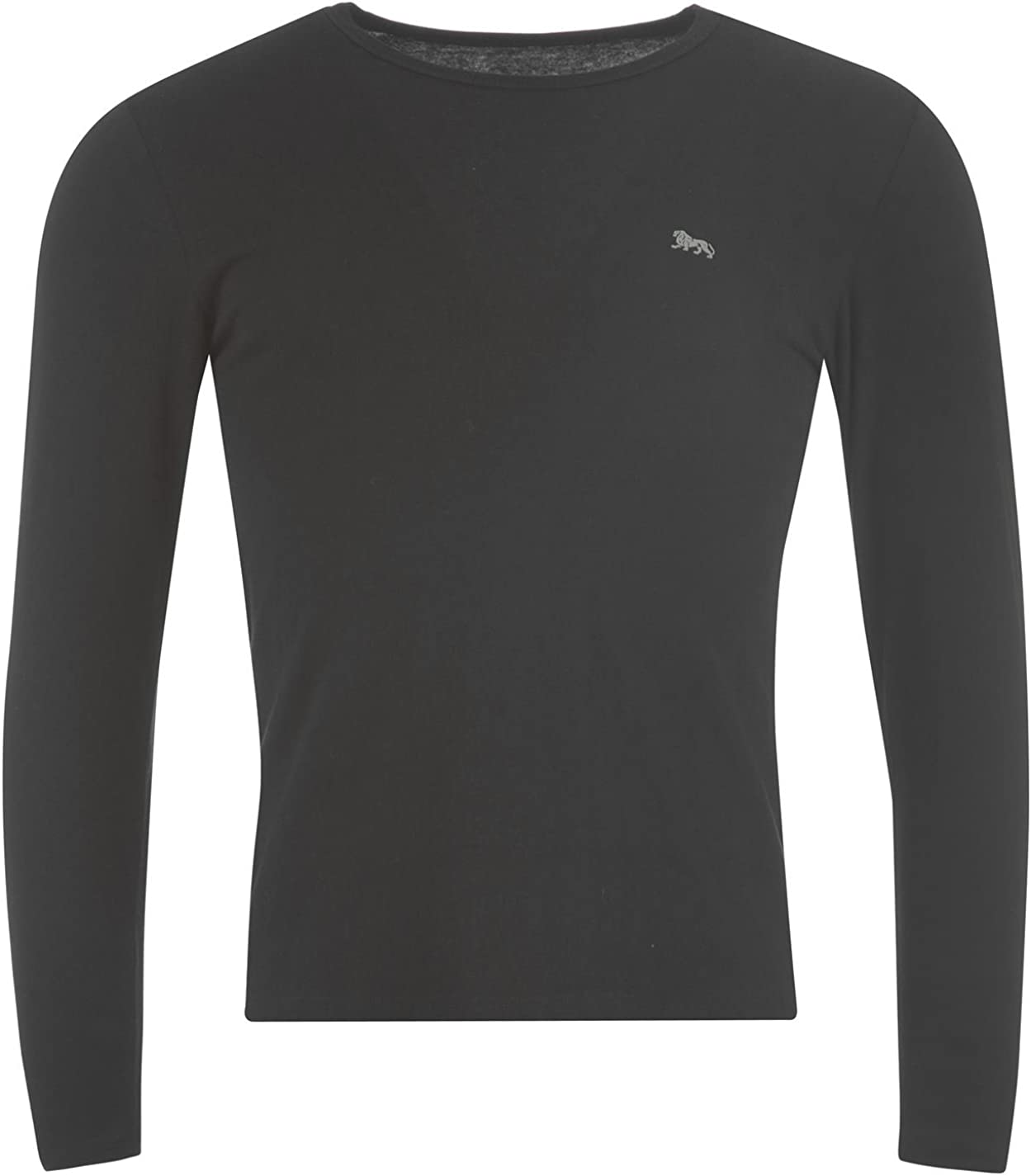 Lonsdale - Camiseta - Cuello Redondo - Manga Larga - para Hombre ...