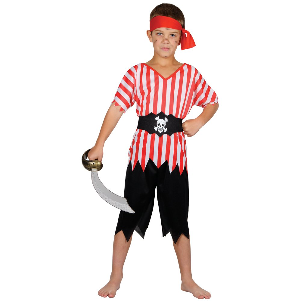 Pirate High Seas Boys Fancy Dress Costume Large Amazon.co.uk Toys u0026 Games  sc 1 st  Amazon UK & Pirate High Seas Boys Fancy Dress Costume Large: Amazon.co.uk: Toys ...