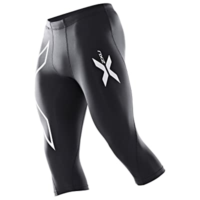 2XU Men's Basketball 3/4 Compression Tights