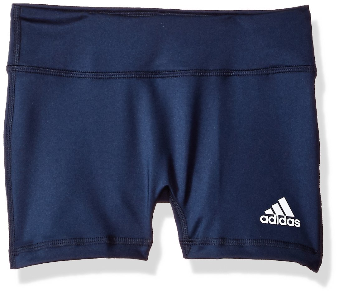 adidas Youth 4 Inch Short Tight, Collegiate Navy, Medium