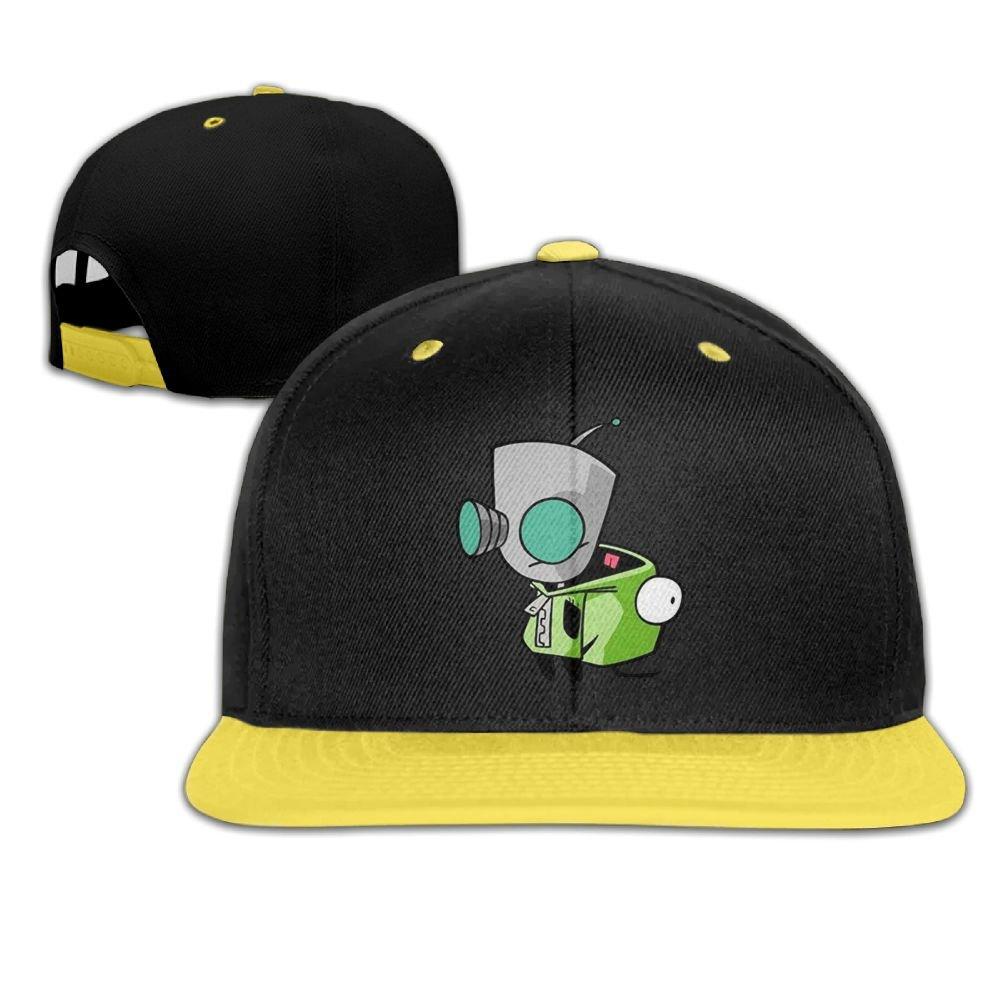 8f0410fd17c Amazon.com  Child Hip Hop Baseball Cap Invader Zim Gir Doom Logo  Personalized Fashion Customization KellyGreen One Size  Clothing
