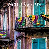New Orleans 2019 12 x 12 Inch Monthly Square Wall Calendar, USA United States of America Louisiana Southeast City