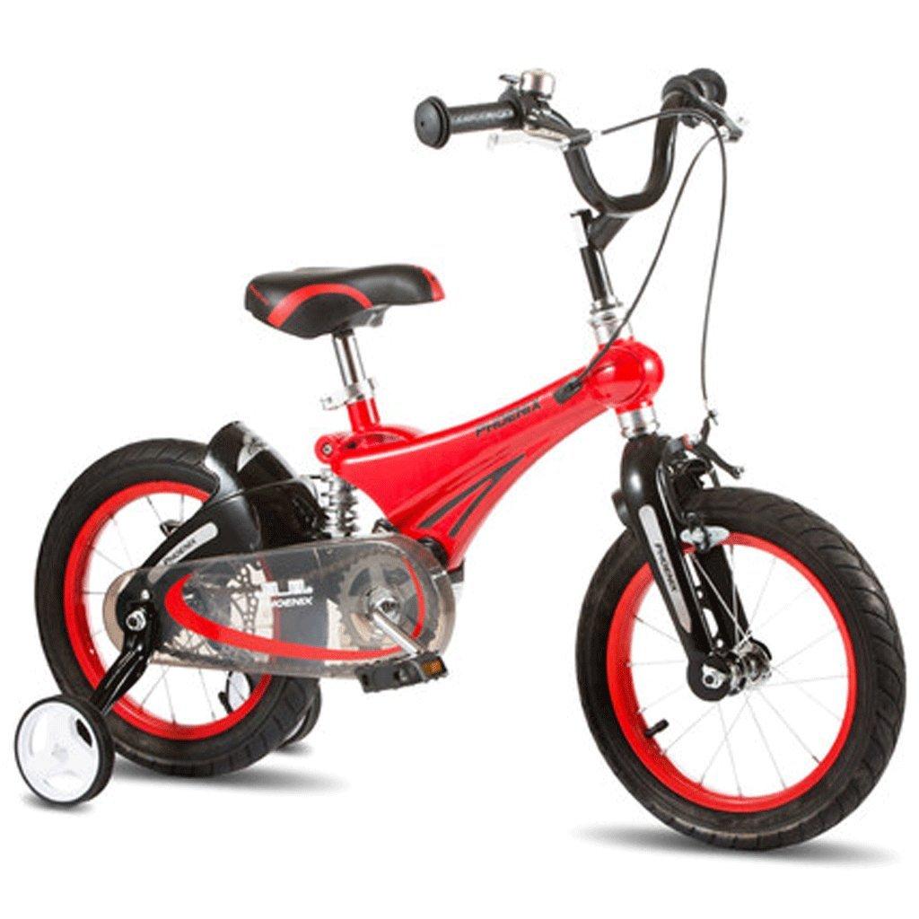 自転車 子供の自転車12/14/16インチの赤ちゃん2自転車3-6歳の子供マグネシウム合金ショックアブソーバーの男の子のキャリッジ (サイズ さいず : 18inch) B07DPP9Q6Q 18inch 18inch