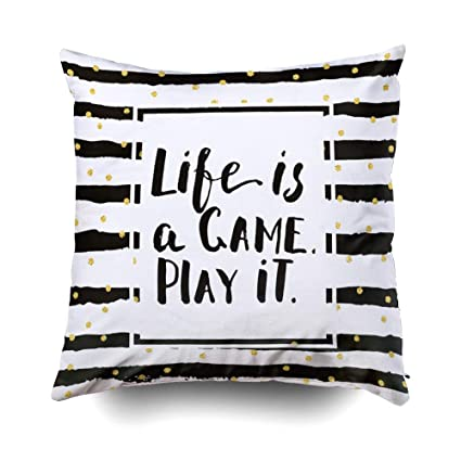 photo regarding Game Covers Printable called Capsceoll Zip Pillow Circumstance, Lifetime Video game Engage in Printable Motivational Greeting Card Decor Layout a it 20x20 Pillow Addresses,Residence Decoration Pillow Circumstances