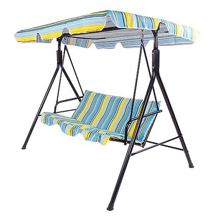 Nuevo jardín al aire libre de la hamaca Swing 3 plazas de asiento de ...