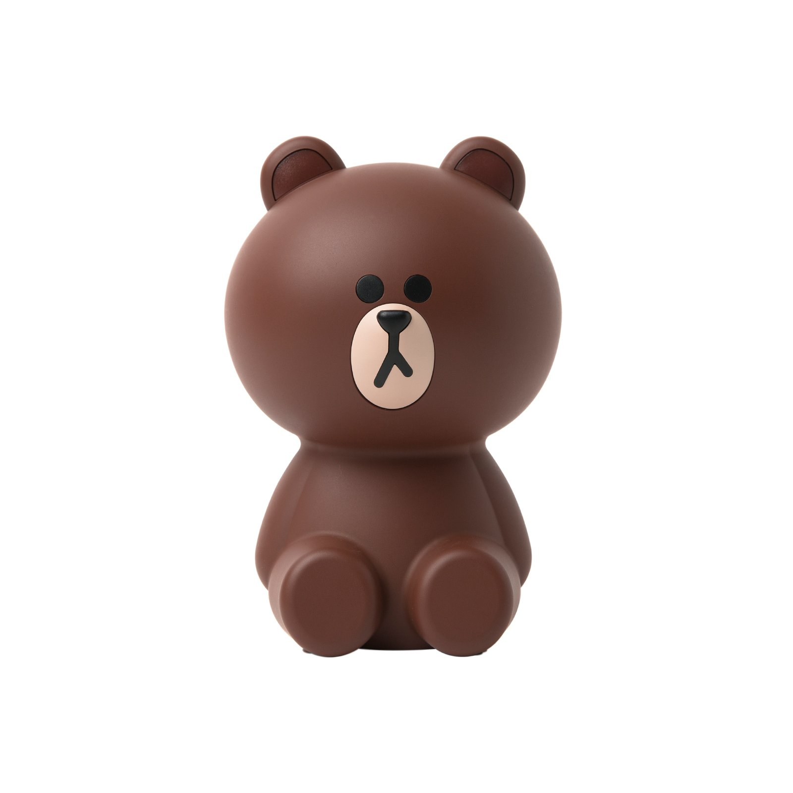 LINE FRIENDS Cute Brown Mini Air Cleaner One Size Brown