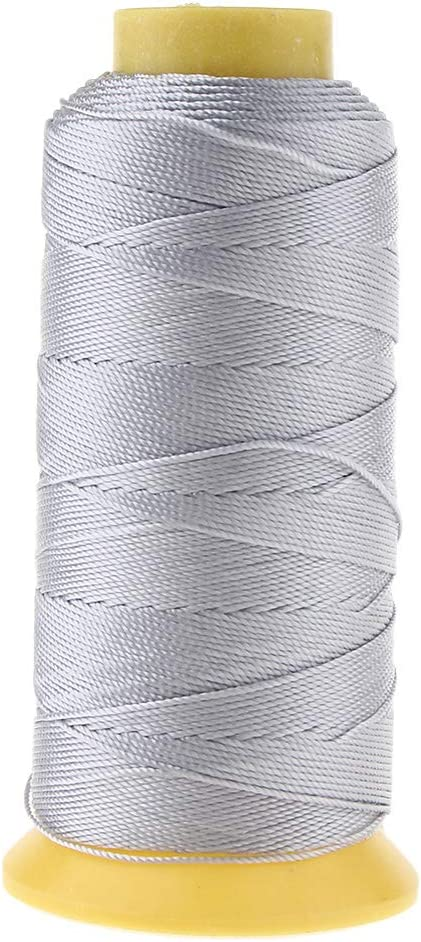 Coffee 200 Meters Bonded Nylon Threads for Leather Stitching Canvas Repair Upholstery