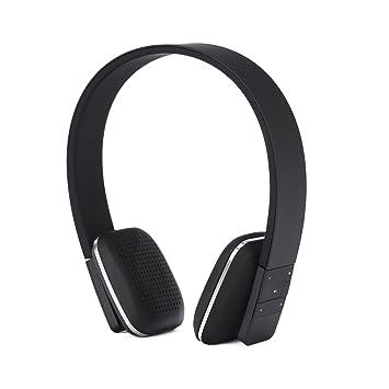 Auriculares inalámbricos, KINGCOO - Auriculares de diadema ajustable auriculares estéreo Bluetooth con Micro, caling manos libres para iPhone 7 Plus, iPad, ...
