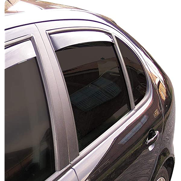 Climair 3982 Window Visors Dark Mazda CX5 KF 5 Doors 2017 Black