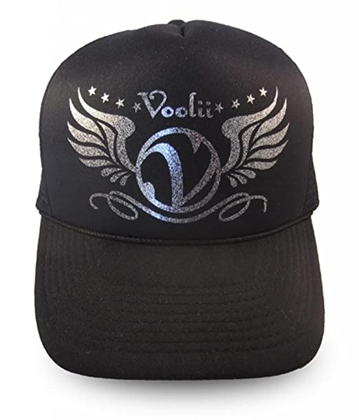 a1d35402 Amazon.com: Voolii Men's V-Wings Glitter Trucker Mesh Hat One Size ...