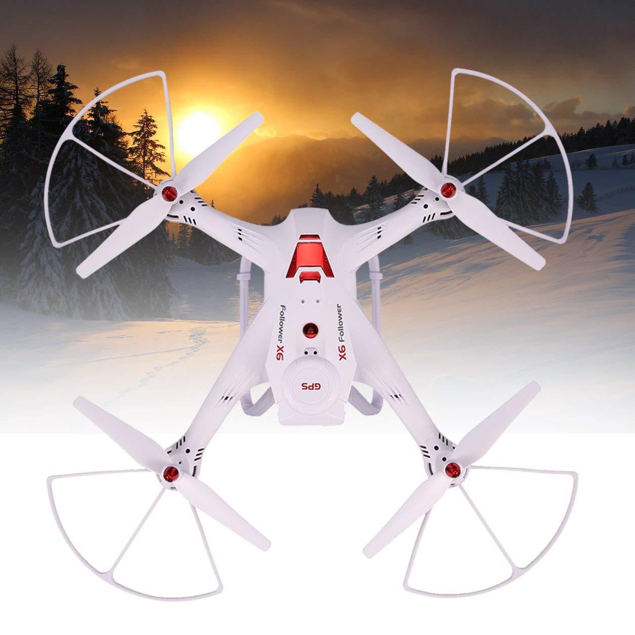 Dailyinshop Global Drone X183S GPS Sin escobillas 5G WiFi 1080P Cámara FPV Drone RC Sígueme (Color: Blanco)