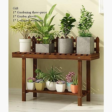 Pie de planta de madera de estilo de la escalera, utilidad ...