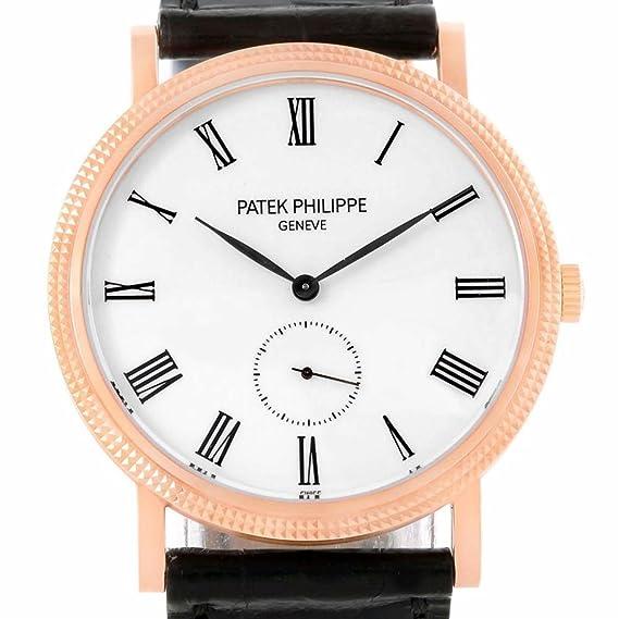 Patek Philippe Calatrava - Reloj mecánico de mano para hombre, 5119 (certificado de presencia