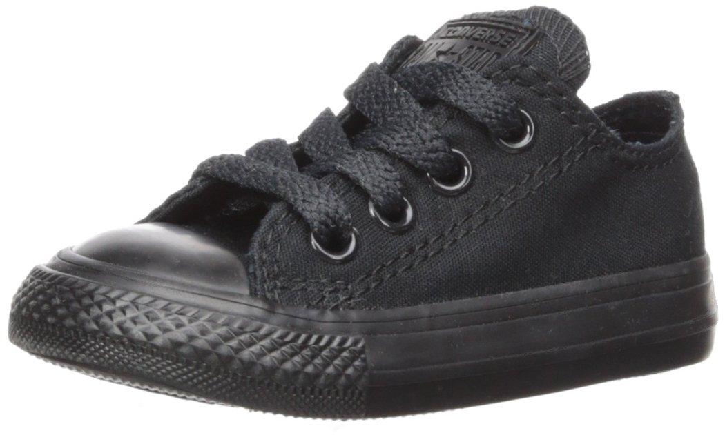 Converse Chuck Taylor All Star Season OX, Unisex Sneaker  30 EU|Black Mono