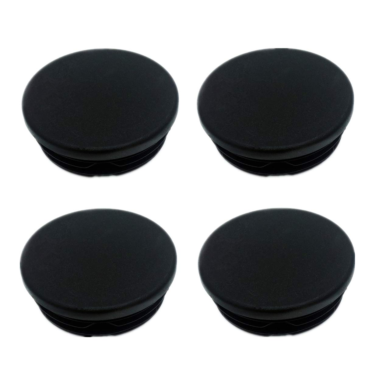 Ezzy Auto Pack 4 Frame Tube Hole Plugs Rear Wheel Well Covers fit for 1999-2018 Chevy Silverado GMC Sierra 1500 Pickup Trucks Accessories