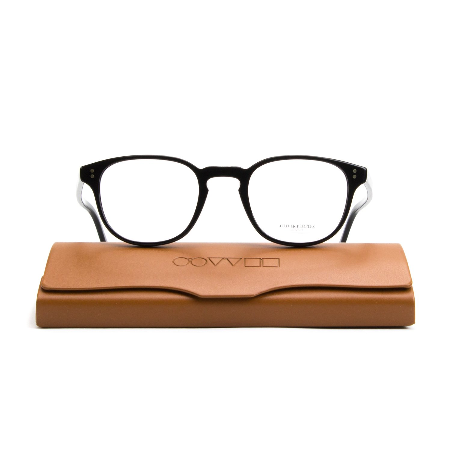 Oliver Peoples OV5219 Fairmont Eyeglasses 1005 Black RX Prescription ...