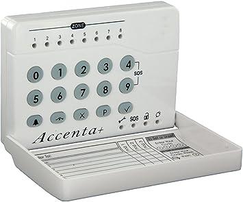 Accenta HWLEDKP - Teclado numérico LED para alarmas