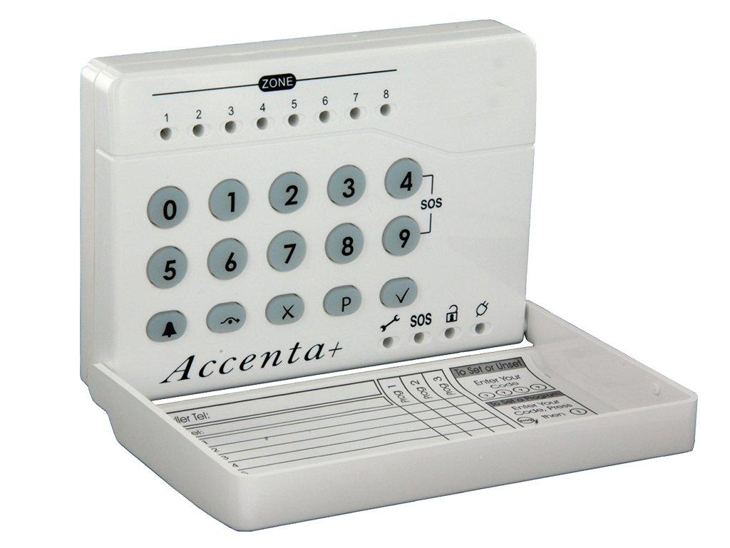 Accenta HWLEDKP - Teclado numérico LED para alarmas: Amazon ...